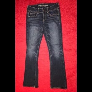 American Eagle stretch boot cut jeans